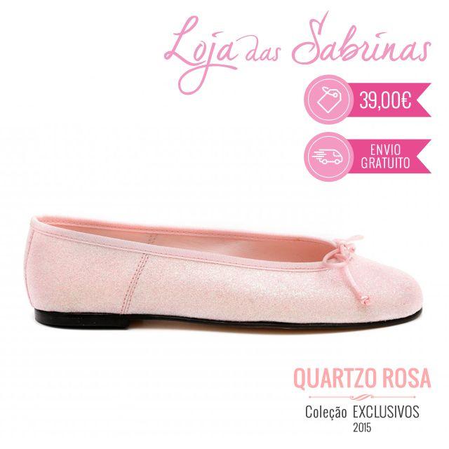 A versatilidade das Quartzo Rosa permitir-lhe inúmeras combinações!  Que tal combiná-las com uma blusa branca e uns calções de ganga agora no verão? wink emoticon http://www.lojadassabrinas.com/product/quartzo-rosa