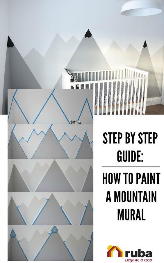 Stunning En algunas ocaciones tu mejor aliado a la hora de decorar es la pintura puedes