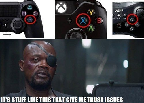 The X Button is Where Again? Gaming Truths