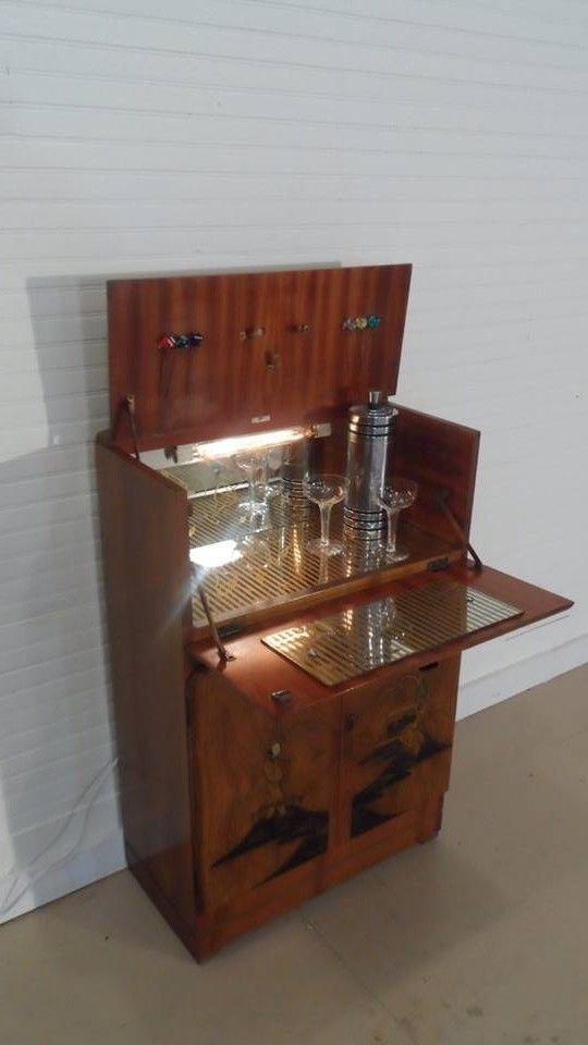 10 Best Home Vintage Furniture Images On Pinterest Vintage Cocktails Bar Cabinets And Bar Hutch
