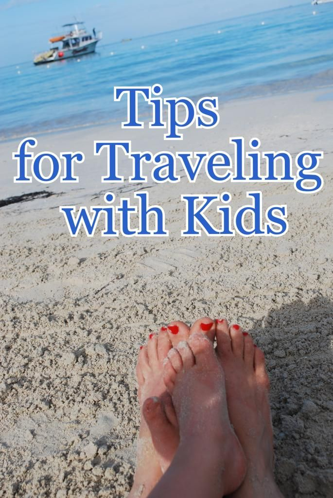 Great tips for traveling with children!  Simple ideas to make traveling fun for all!