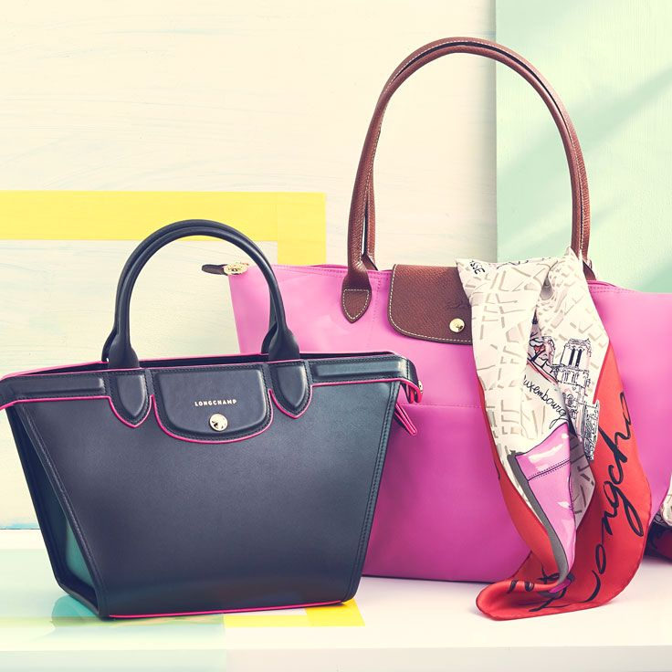 That moment when your Longchamp goes from being your statement-making accent to your everyday staple.