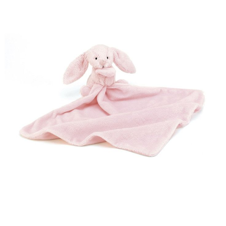 Bashful Pink Bunny Soother - Soother - Baby Belle