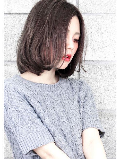 ヘアサロン ガリカ(hair salon Gallica ヘア サロン ガリカ)『毛束感 ×プラチナグレージュ』☆カールBobミルクティーカラー
