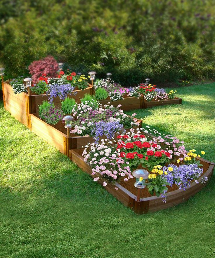Contech Tri Level Split Waterfall Raised Garden Bed Frame