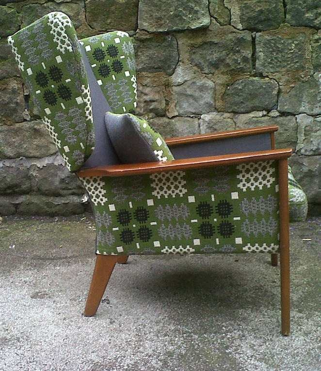 Chair Upholstered In Vintage Welsh Wool Tapestry Fabric. By Eclectic Chair.  | Textiles | Pinterest | Eclectic Chairs, Welsh And Tapestry Fabric