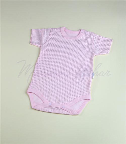 Bi Baby Puantiyeli Body Pembe