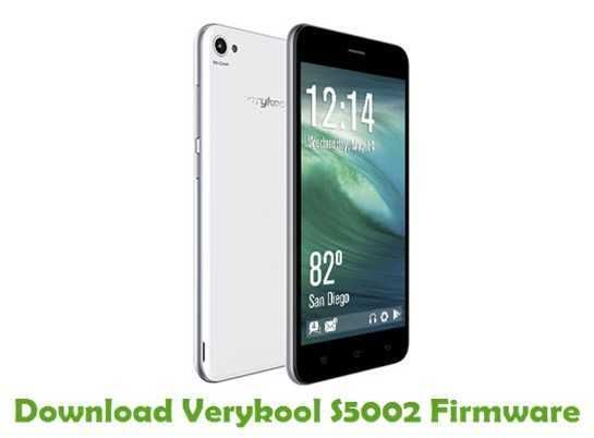Install and Download Verykool S5002 Official Firmware