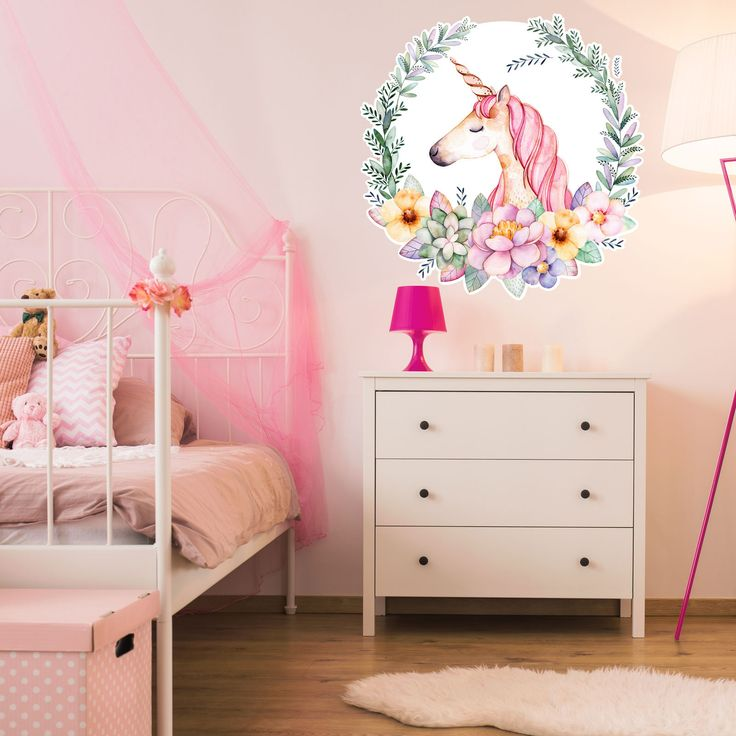 The 25 best unicorn wall decal ideas on pinterest wall for Space unicorn fabric