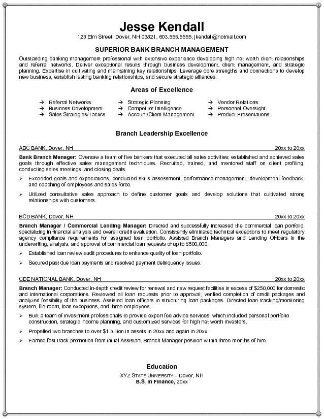 resume samples for sales manager insurance