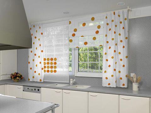 cortinas para cocinas