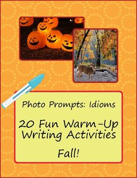 writing class warm up To warm up the brain and get into a creative mood - give the children a topic and ask them to write as much as they can in say, one minute time them and ask them to count the number of words then try again with another topic.