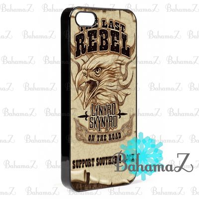 New Rare LYNYRD SKYNYRD THE LAST REBEL iPhone 5 5S Case | Bahamaz - Accessories on ArtFire