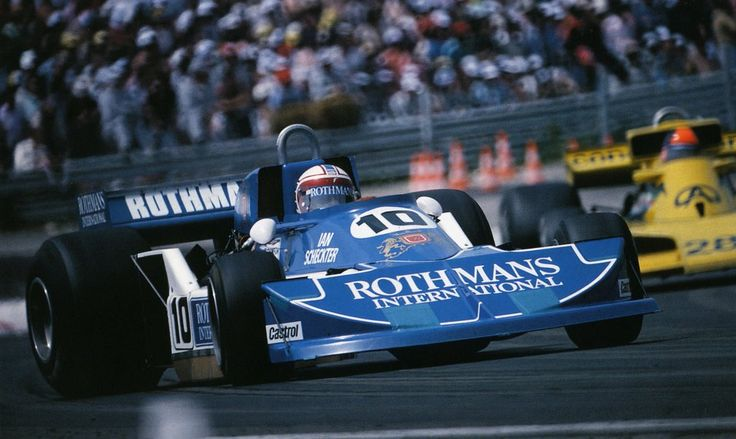 Ian Scheckter, March 761B - Ford-Cosworth DFV 3.0 V8 (France 1977)