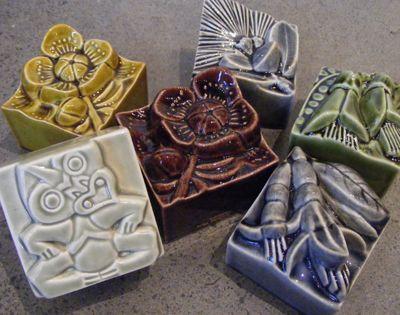 Kura Gallery New Zealand Design Bob Steiner Ceramic Sculpture Wall Art