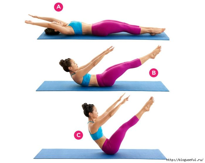 упражнения для подтянутого и упругого живота