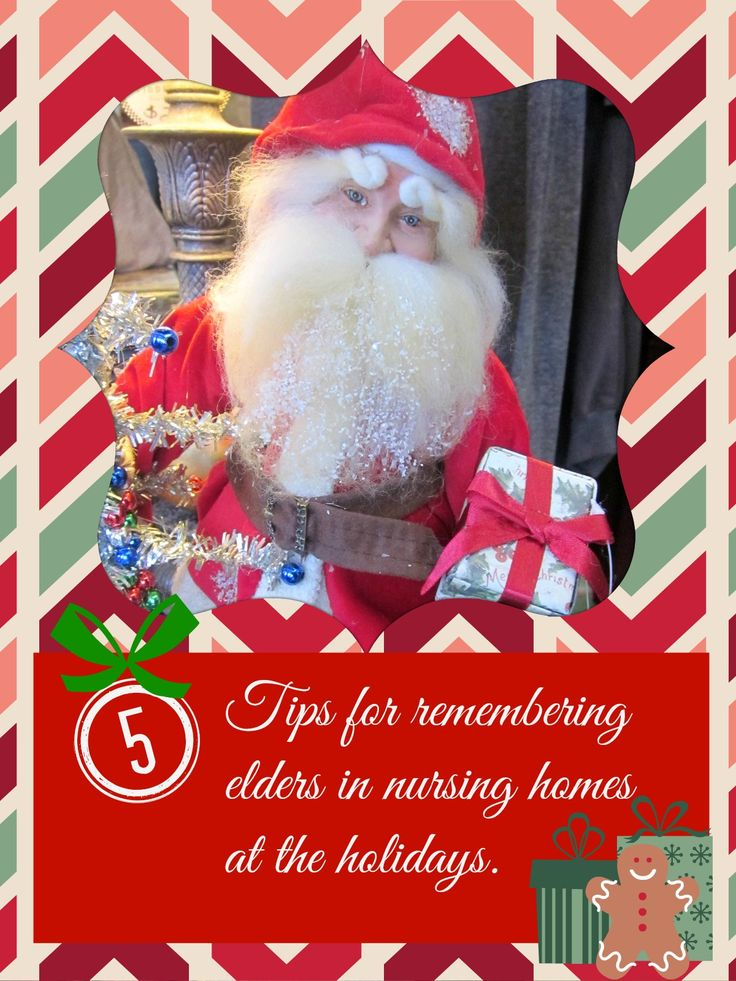 22 best nursing home residents gift ideas images on pinterest 5 tips for spreading joy to nursing home residents at the holidays negle Gallery