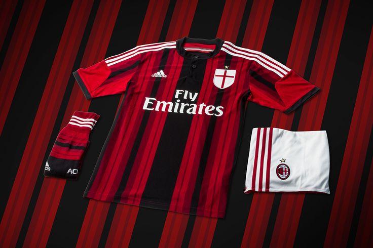 Image of adidas Unveils AC Milan's New 2014/15 Kits
