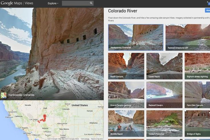 Grand Canyon is now in the list of Google Maps: Street View! - DigitFreak - The Biggest Digital Tech News Hub