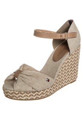 EMERY - Sandaletter med kilklack - gold
