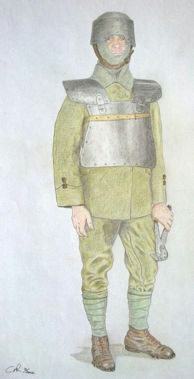 Italian Army 1915, ardito guastatore, pin by Paolo Marzioli