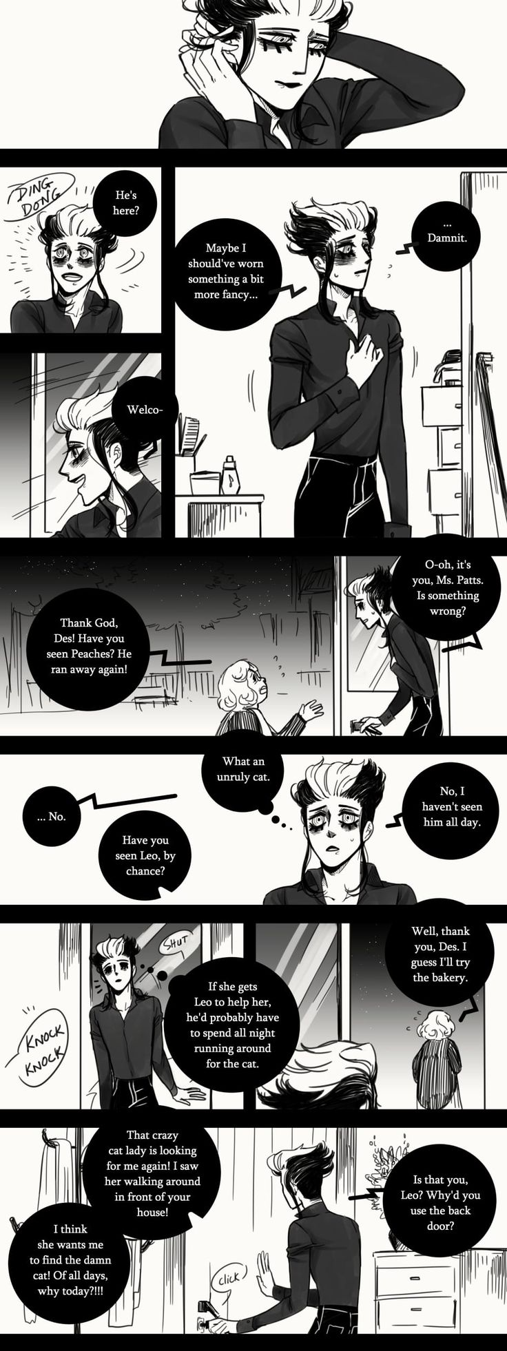A Matter of Life and Death :: Special Episode: 1 Year Anniversary (Part 4 - END) | Tapastic Comics - image 1