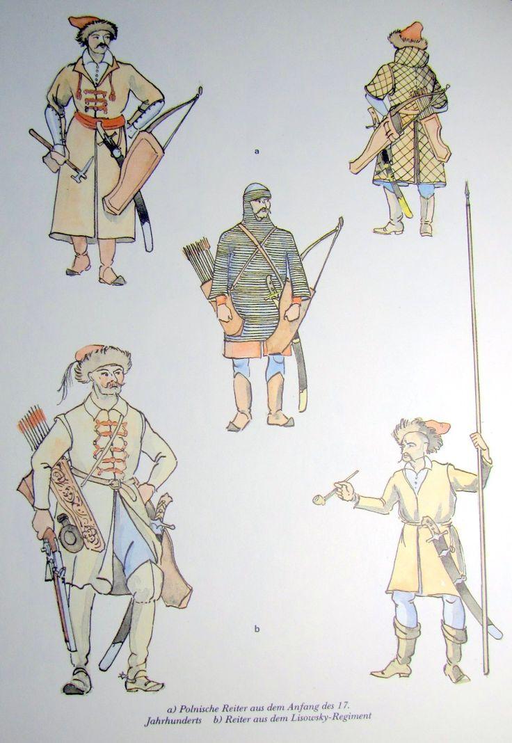 polnische Reiter Anfang 17. Jhd.