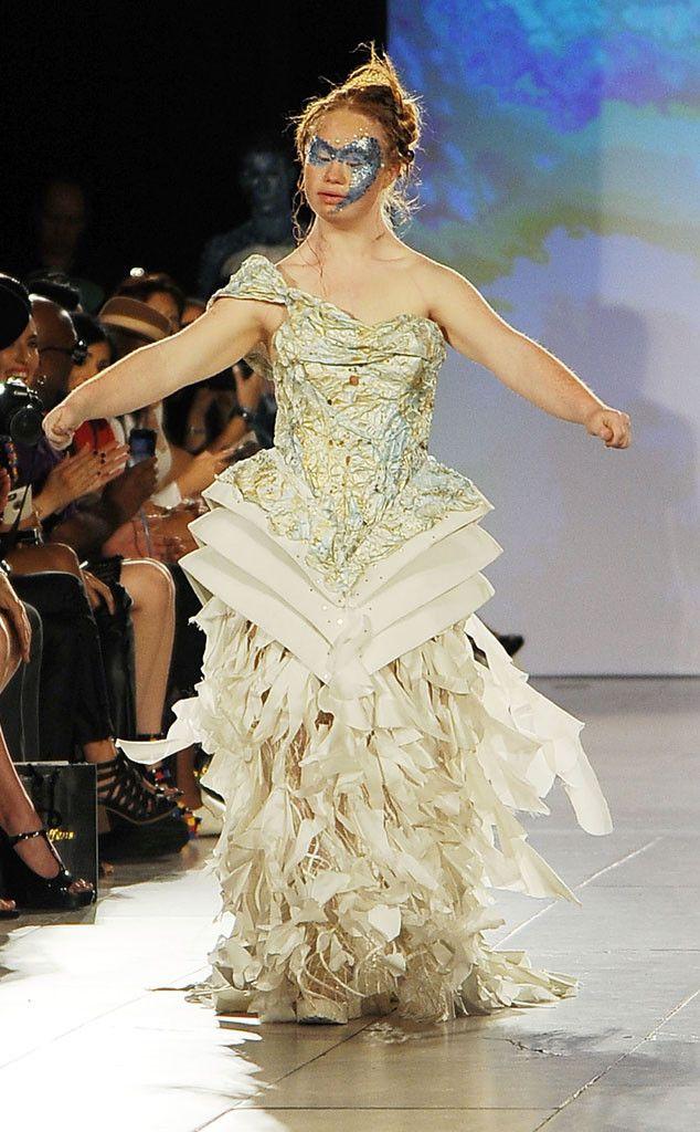 Model With Down Syndrome Madeline Stuart Makes Her New York Fashion Week Debut  Madeline Stuart