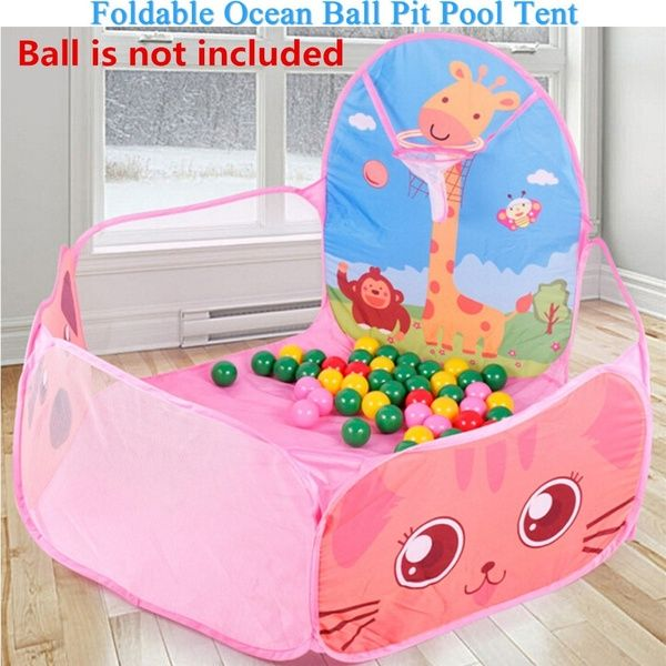 Outdoor Indoor Tent Ocean Ball Pit Pool Portable Kids Game Play Children Toy