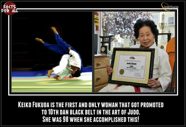 Meet Keiko Fukuda - pioneer of the women's judo! April 12, 2014 would have been her 101st birthday!