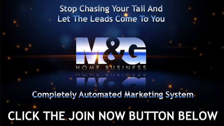 M&G Home Business Marketing System - automated list building for internet marketers. http://unlimitedleadspro.com