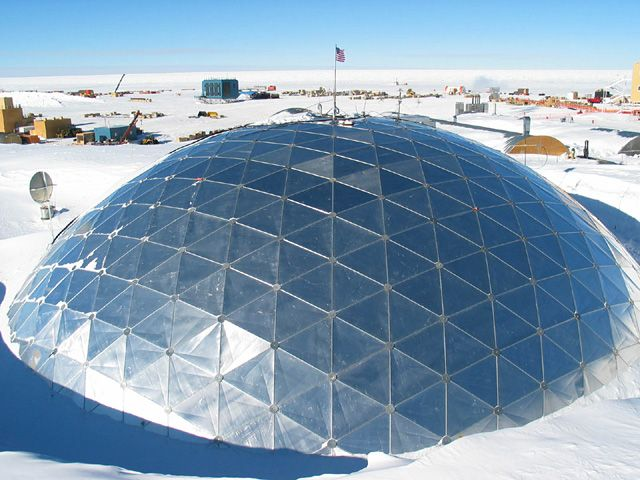 1000+ images about Geodesic dome greenhouse on Pinterest ...