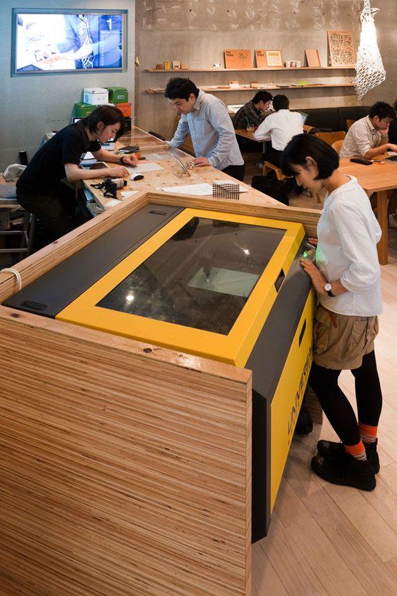 FabCafe by Naruse Inokuma Architects ©Shinkenchiku-sha