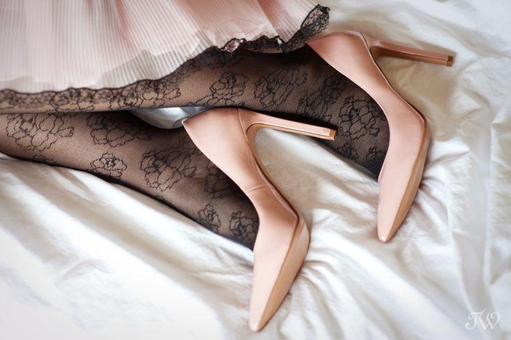 Pink patent shoes for shoe week   @ninewestcanada   Calgary wedding photographer