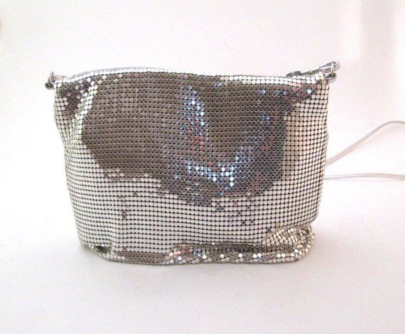 803db7d079 Vintage Whiting and Davis Silver Mesh Purse