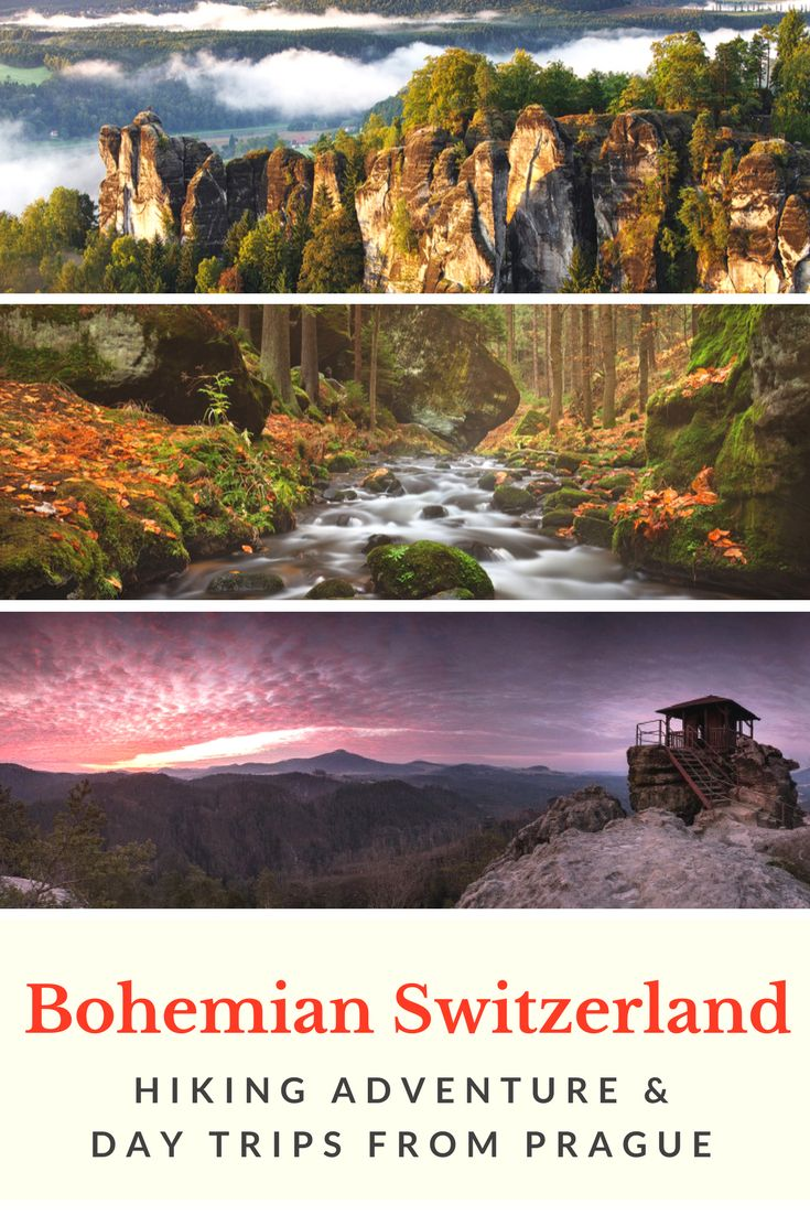 Fall Hiking Near Prague: Join our local guides for an unforgettable day hike in the Bohemian Switzerland National Park in the Czech Republic. Warning: be prepared to be stunned! Click the picture for more details!