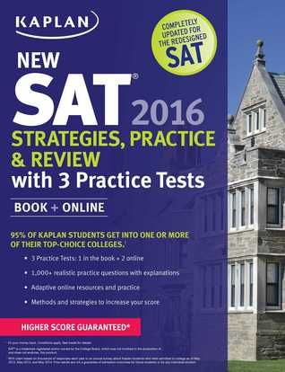 NEW SAT 2016: STRATEGIES, PRACTICE, AND REVIEW - If you're taking the SAT before March, check out the older test prep books in the library. (October 2015)