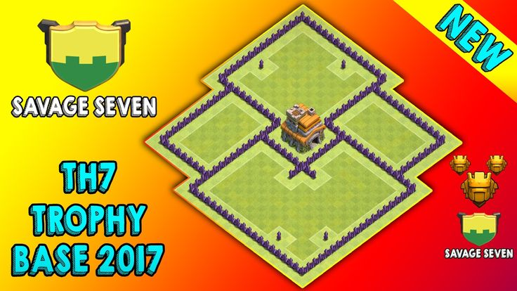 Best TH7 Trophy Base 2017 New Update. Savage Seven TH7 Defense/Trophy Base 2017. Clash Of Clans TH7 (Town Hall 7) Trophy Pushing Base. New TH7 Trophy Base 2017. https://www.youtube.com/watch?v=CKYGhZscnT8    How To Help My Channel?   Subscribe This Channel: https://www.youtube.com/channel/UCIl3Iho_kXesGZGqG_ITztA?sub_confirmatoin=1  Like This Video  Share This Video On Social Media  Add This Video in Watch Later List  Turn On Send me All Notifications For This Channel   Whats On This…