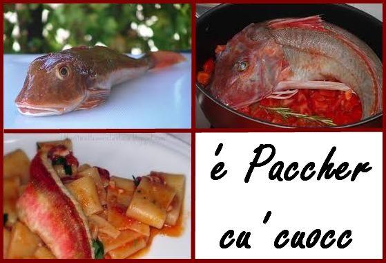 Napoli ai fornelli: PACCHERI o SPAGHETTI COL COCCIO (GALLINELLA DI MARE)