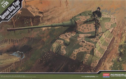 Sd.Kfz.182 King Tiger, Last Production. Academy, 1/35, injection, No.13229. Price: 42,99 GBP.