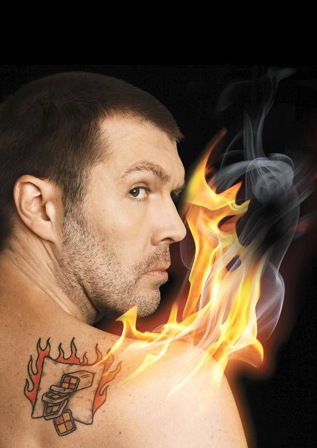 Comedian Rhod Gilbert -The funniest man of the moment