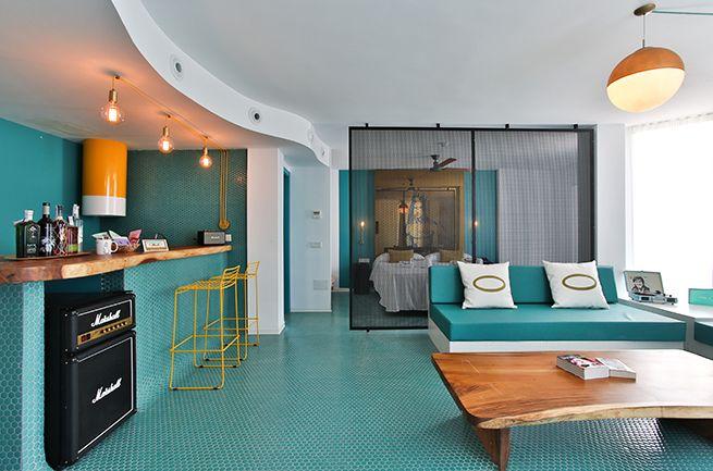 Hotel Santos Dorado en Ibiza ILMIODESIGN #Ibiza #rock #verano