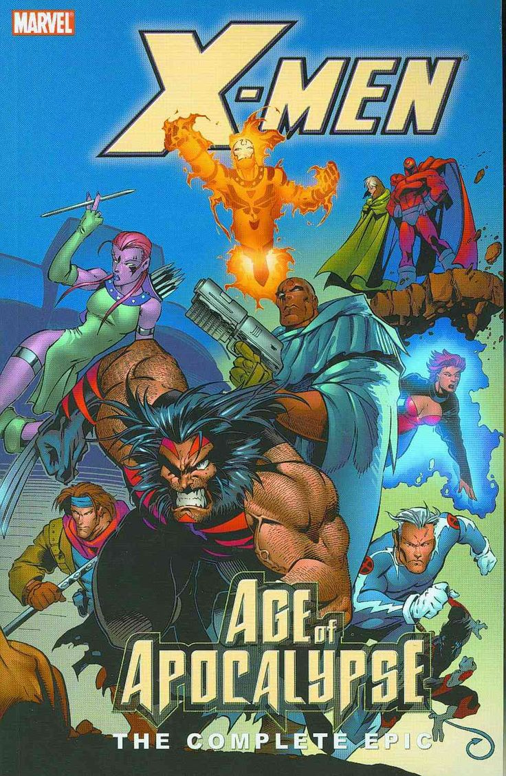 X-men Age of Apocalypse Epic: The Complete Epic Book 2