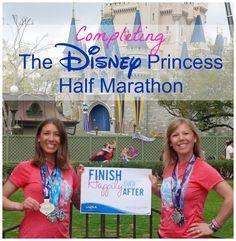 Disney's Princess Half Marathon: Two Runner's Stories from the Run Disney Princess Half Marathon.