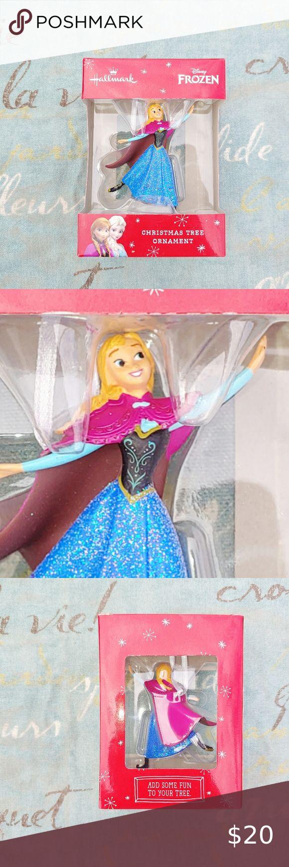 Disney Frozen 1 Anna Christmas Ornament in 2020 Hallmark