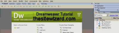 This tutorial guides you through the steps of creating your first website using Dreamweaver.