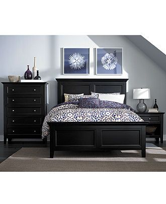 Captiva 5 Drawer Chest. Black Bedroom ...