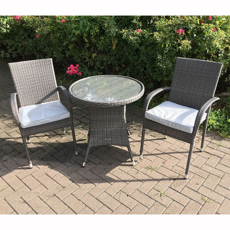 Garden Set For Sale Part - 37: Royal Craft Marlow Bistro Set With Stacking Chairs U2013 Next Day Delivery  Royal Craft Marlow Bistro