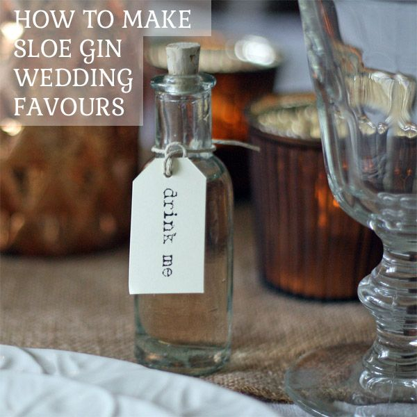 Recipe For Sloe Gin Wedding Favours