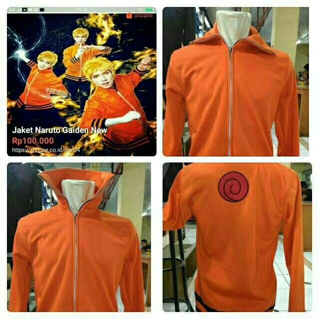 Saya menjual Jaket Naruto Gaiden New seharga Rp90.000. Dapatkan produk ini hanya di Shopee! https://shopee.co.id/rien24/460495750 #ShopeeID